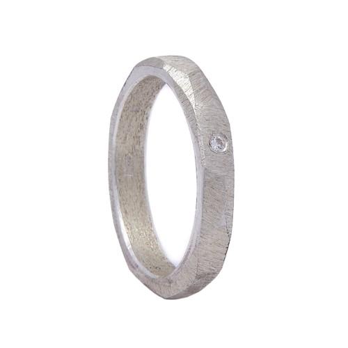 """Sidabrinis žiedas """"Geo"""" MW4215"""